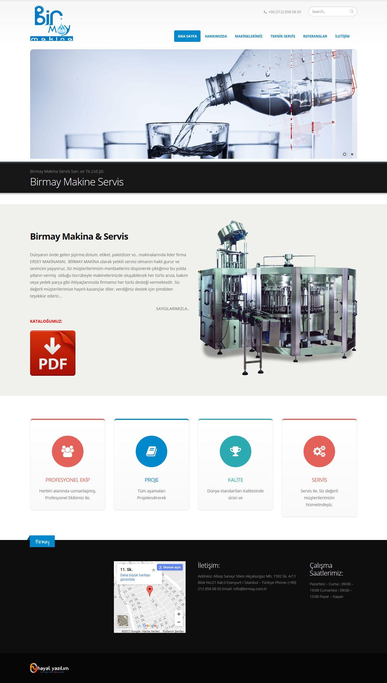 Birmay Makina - www.birmay.com.tr